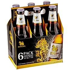6 Pack SINGHA Beer ( Buy 5 get 1 free)