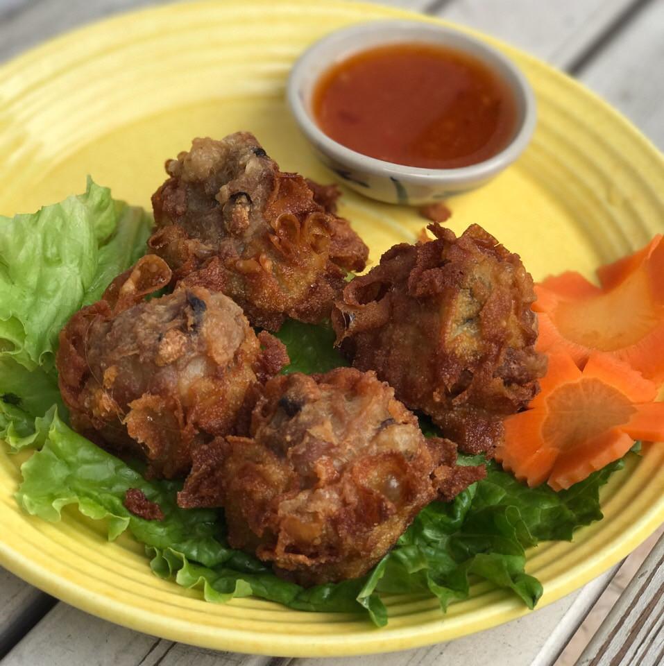 Fried Shrimp&Pork Dumplings