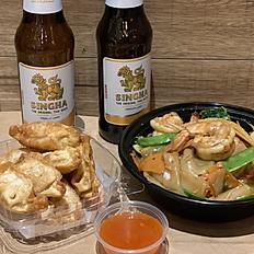 Kee Mao + App + SINGHA Beer