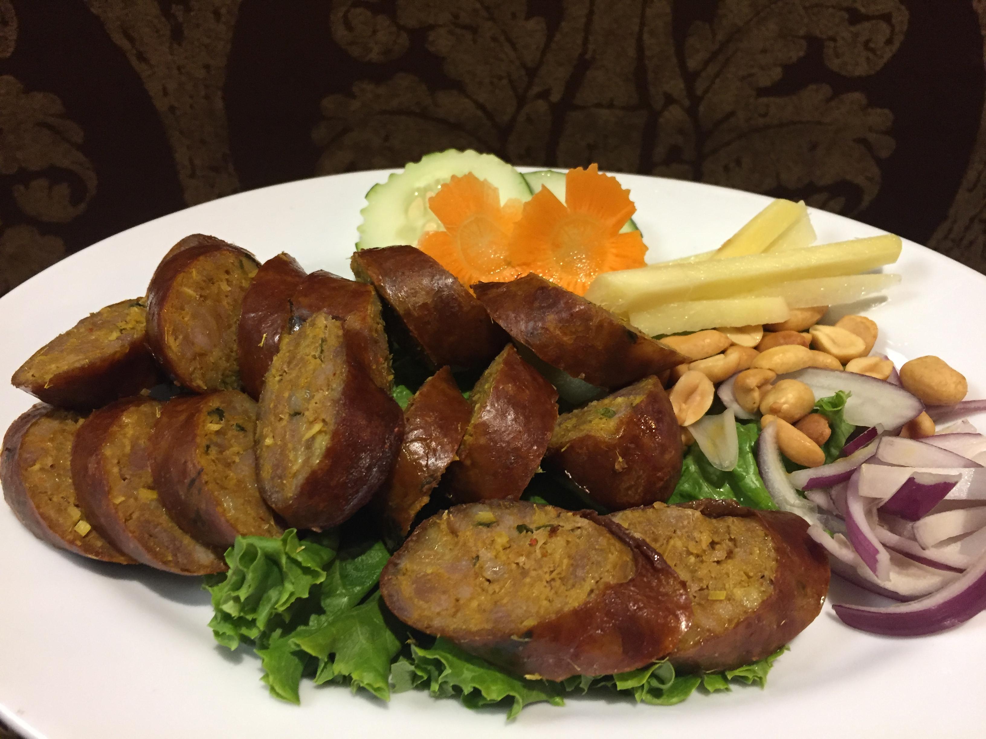 Sai Ua (Pork sausage)