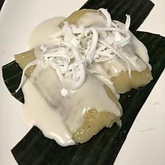 Sweet Coconut Sticky rice.