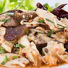 Larb Hed Salad