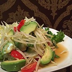 Som Tum Avocado Salad