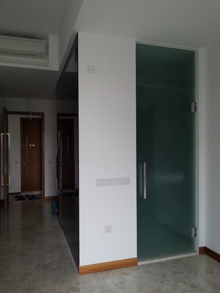 Residential Project: Heavy Duty Glass Hinges