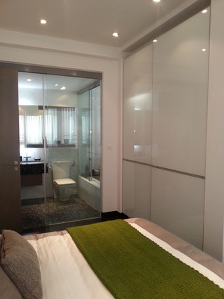 Residential Project: Sliding Shower Entrace & Partitions
