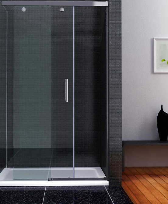 Sliding Shower Door with Soft Closing.jp