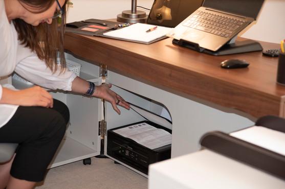 Printing or scanning