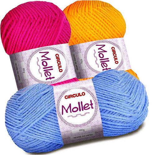 Lã Mollet 100g