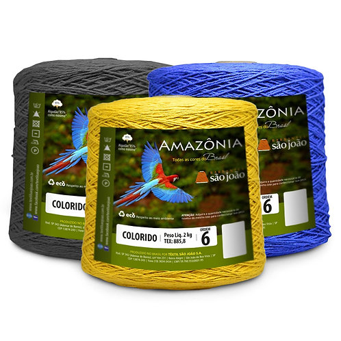 Amazônia nº 6  2Kg Colorido