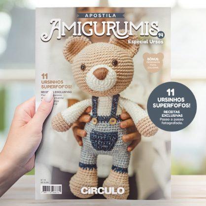 Apostila Amigurumi nº14 - Especial Ursos
