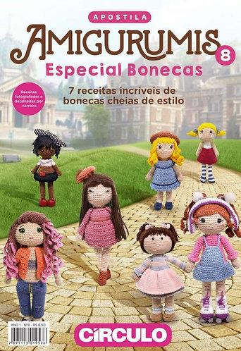 Apostila Amigurumi nº8 - Especial Bonecas