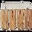 Thumbnail: Kit Agulha Crochê Bambu 20 Pçs
