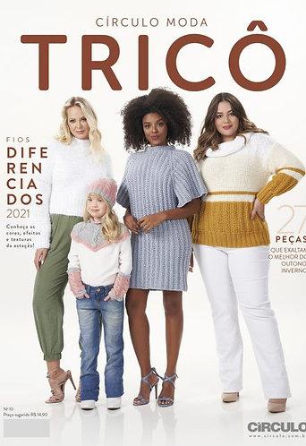 Revista Círculo Moda Tricô nº 10 Coleção 2021