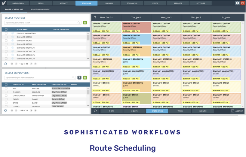 Route Scheduling