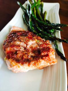 Cherry Salsa Salmon