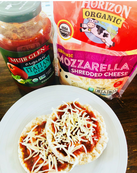 Healthified Pizza Lunchable