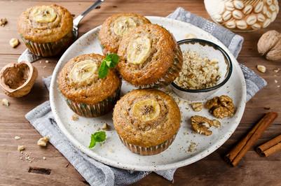 Banana Nut Butter Muffins