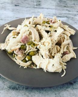 Instant Pot Chicken Carbonara