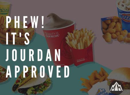 Phew! It's Jourdan Approved