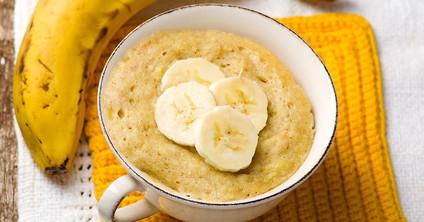 Banana Bread Mug Muffin