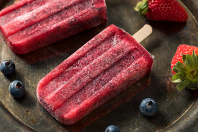 Red, White and Booze Popsicles