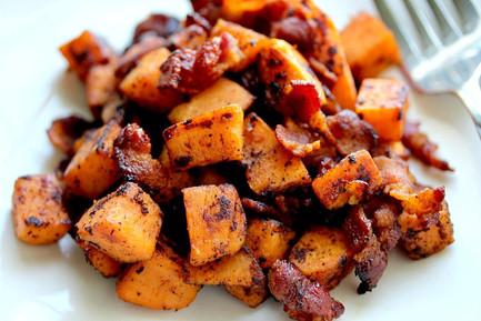 Carmelized Sweet Potato Salad