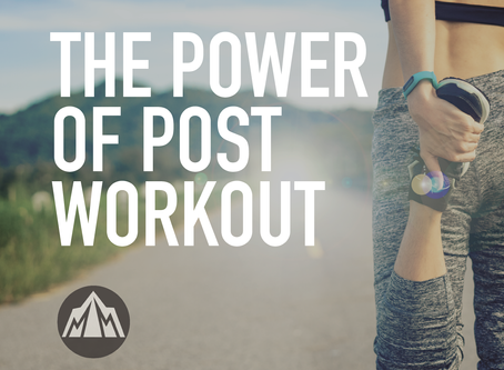 The Power of Post Workout