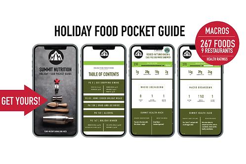 Food Pocket Guide