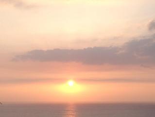 Meditation on the golden light