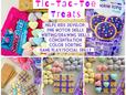 Valentine's Day Tic-Tac-Toe Treats