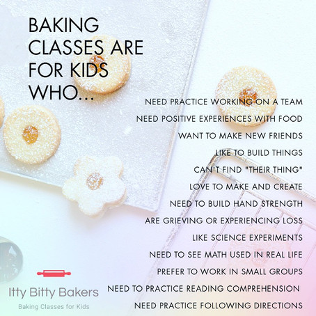 What kind of kid goes to baking classes?