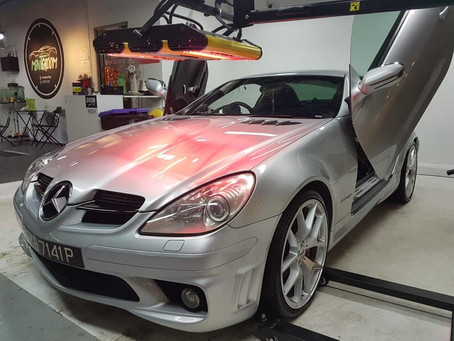 10 Years #Mercedes #SLK200 'Re-Alived' by MintGroom Car Detailing