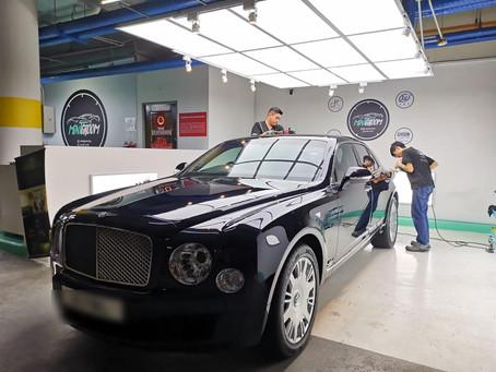 #Bentley #Flying #Spur V8