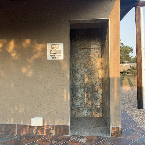 Porta Pottie Cleaning Station