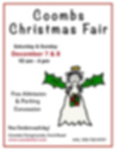 Coombs Xmas craft sale poster 2019.jpg