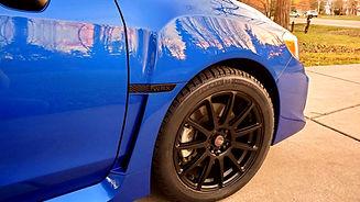 2020 Subaru WRX after Ceramic Coating