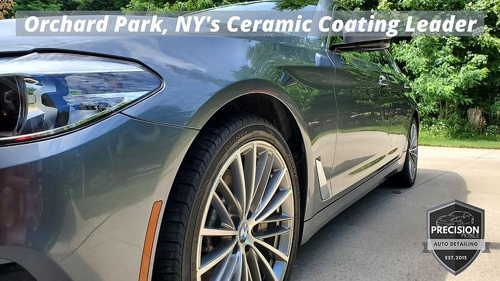 Orchard Park, NY's Ceramic Coating Leade
