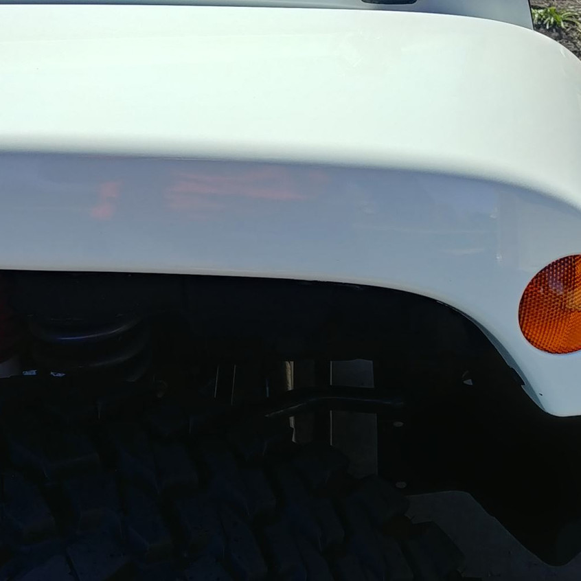 Jeep Wrangler detailing iron removal aft