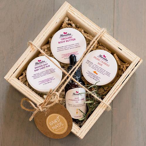 New Mom Organic Gift Box