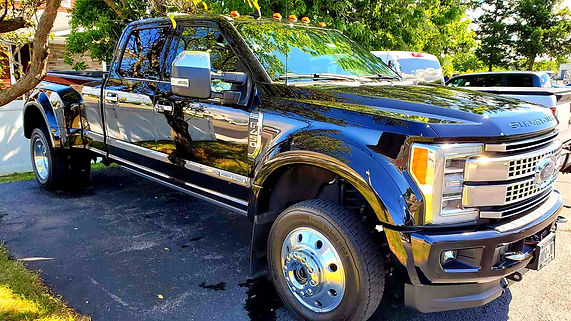 2019 Ford F-450 after detailing