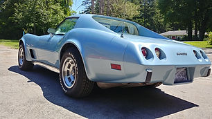1977-Chevy-Corvette-Light-Blue-Left-Rear