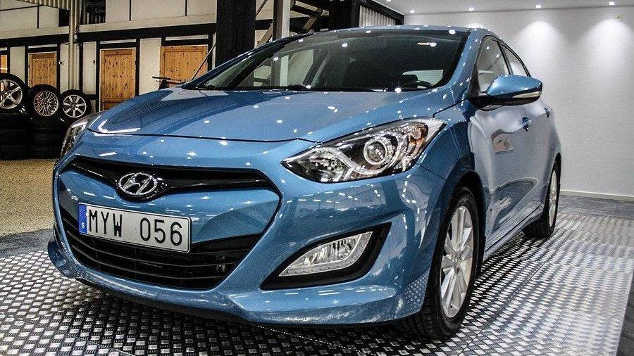 Hyundai i30 5-dörrar 1.6 CRDi 110hk -13