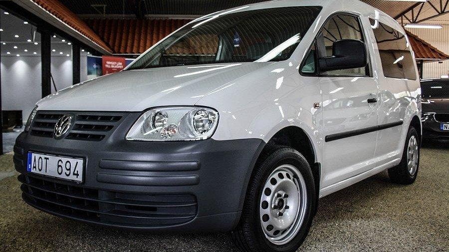 Volkswagen Caddy Life 2.0 EcoFuel 109hk -09