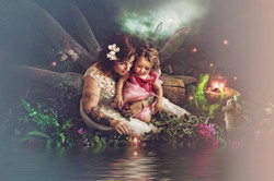 Mother and Child Fairy Photography
