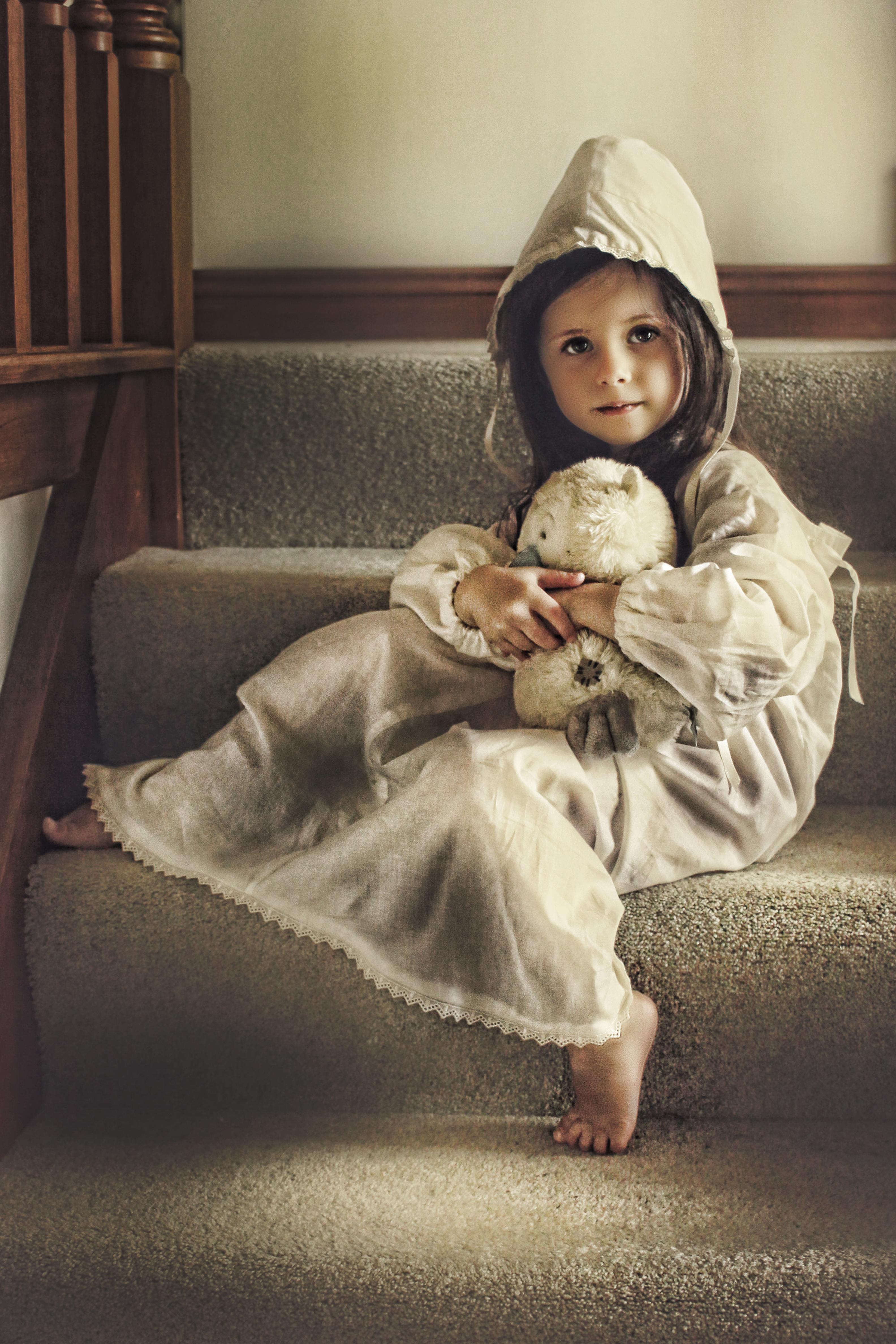 Vintage Child portrait