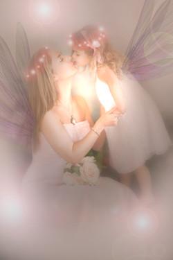 Mummy and me fairy portrait
