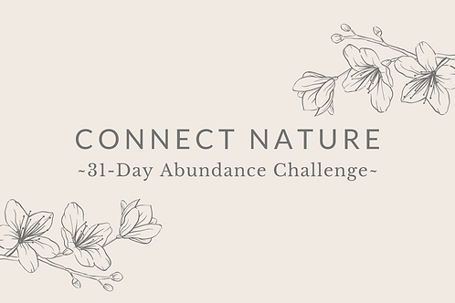 Day 11 - Connect Nature