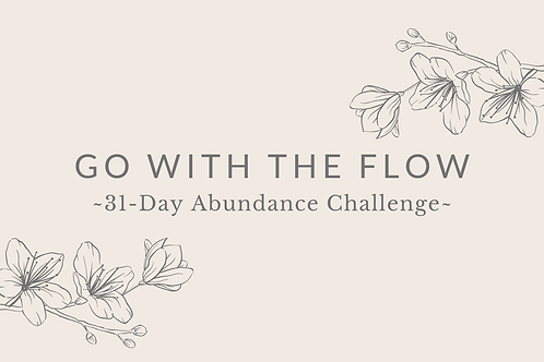 Day 20 - Go With The Flow