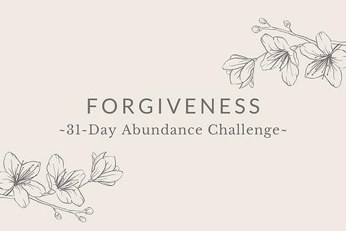 Day 5 - Forgiveness