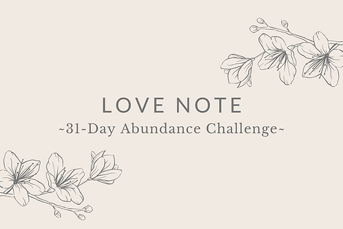 Day 4 - Love Note